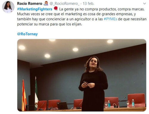 Marketing Fighters: Rocío Tornay presenta el informe de la situación del marketing en Andalucía, elaborado por Foro Marketing Sevilla